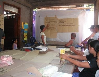 Farmers learn basic development principles in managing community projects